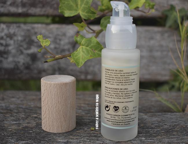 Kóoch Green Cosmetics: Sérum Nutritivo y Regerante ANEM