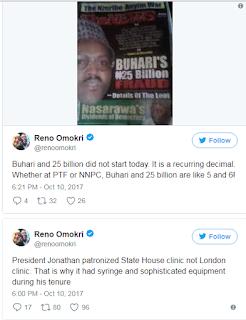Reno Omokri speaks on the $5.5 billion loan Buhari intends to borrow