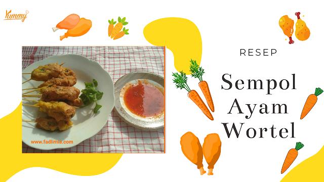 resep sempol ayam wortel