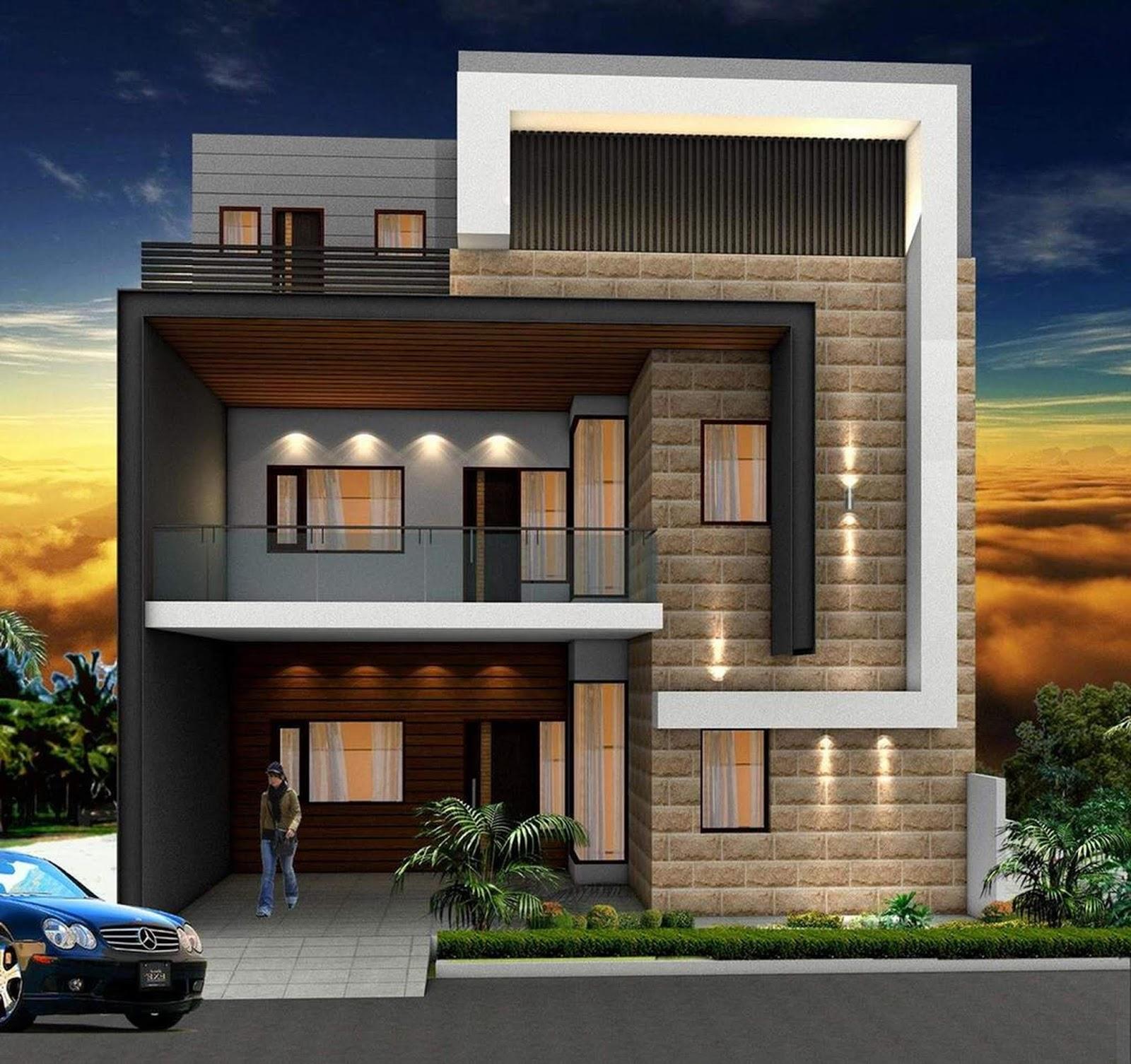 Modern Home Design Ideas Exterior: Modern Villa Exterior Designs