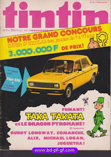 Tintin numéro 43, 1976, Taka Takata