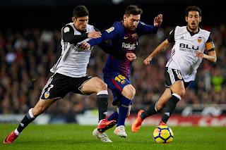 كورة ستار مباراة برشلونة وفالنسيا مباشر