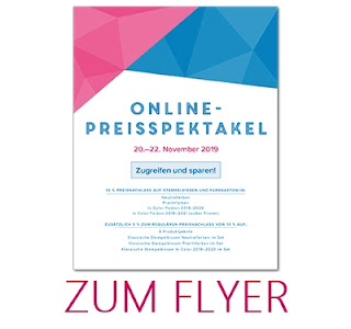 Flyer Online Preisspektakel Stampin Up