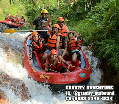 Gravity Adventure arung jeram pangalengan