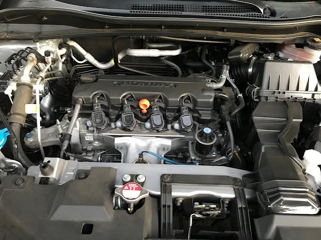 Engine 2019 Honda HR-V AWD Touring