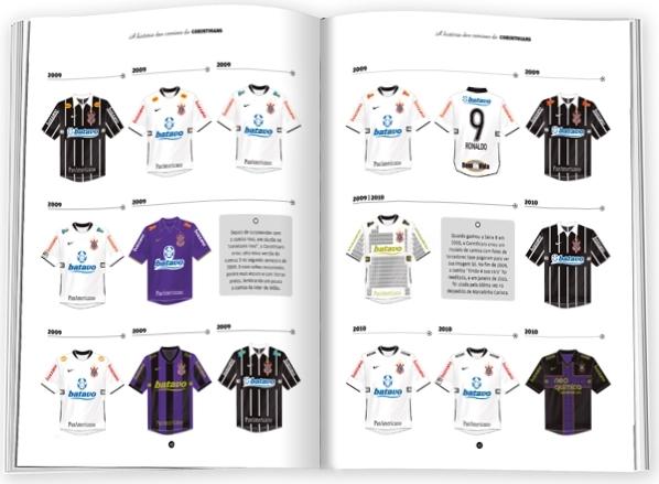 Livro conta a história das camisas dos 12 maiores times do Brasil ... 4e3b4b09d76b3