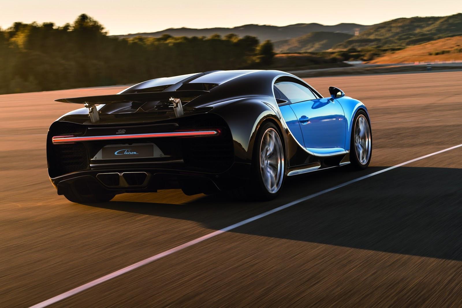 Bugatti Test Driver Suggests The Chiron Won't Hit 300 MPH ...