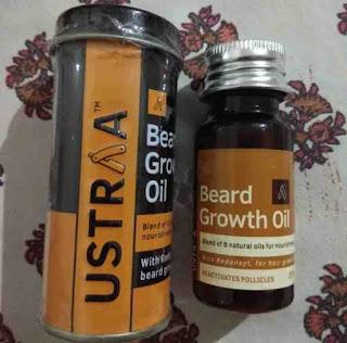افضل زيت نمو شعر اللحية Ustraa beard growth oil
