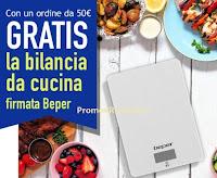 Promozione Casa Henkel : Gratis la bilancia da cucina Beper