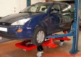 Cầu nâng cho khoang sửa chữa xe tai nạn-5