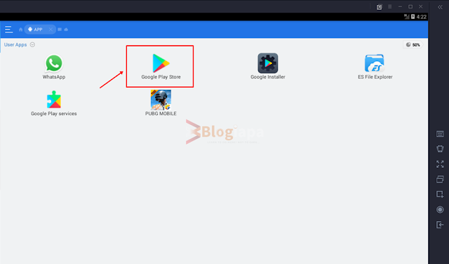 es file manager google play app in gameloop