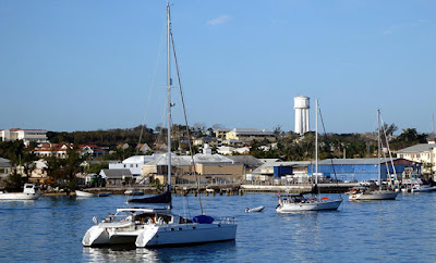 Nassau Harbour and Water Tower