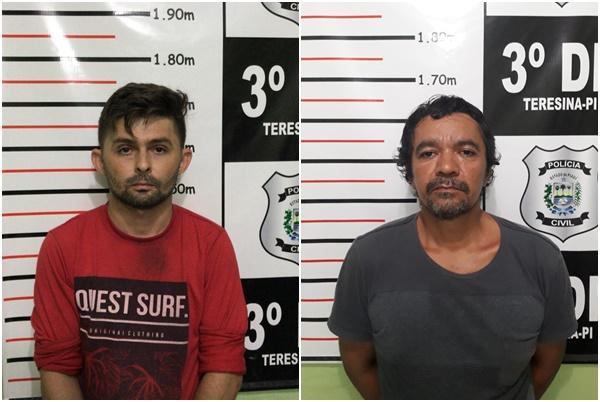Dois homens são presos acusados de estrupo e arrombamento em Teresina
