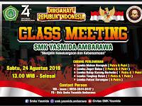 Desain Banner Class Meeting 17 Agustus 2019