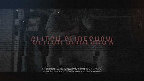 Glitch Slideshow[Videohive][After Effects][19689040]