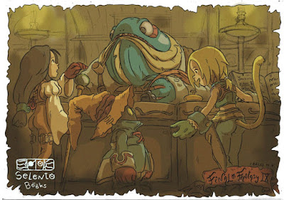 FANART BY SELENTO BOOKS Final Fantasy IX 16 Agosto 2020