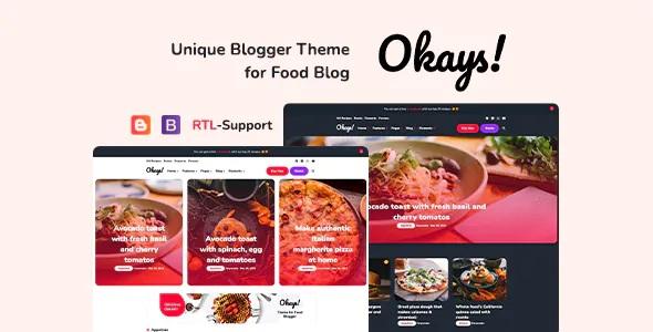 Responsive Personal Premium Blogger Theme
