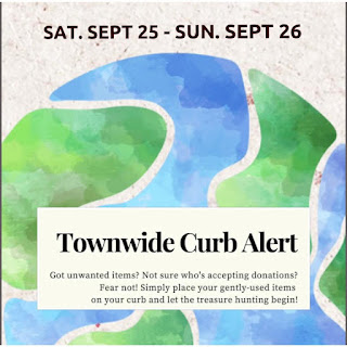 Townwide Curb event - Sep 25-26