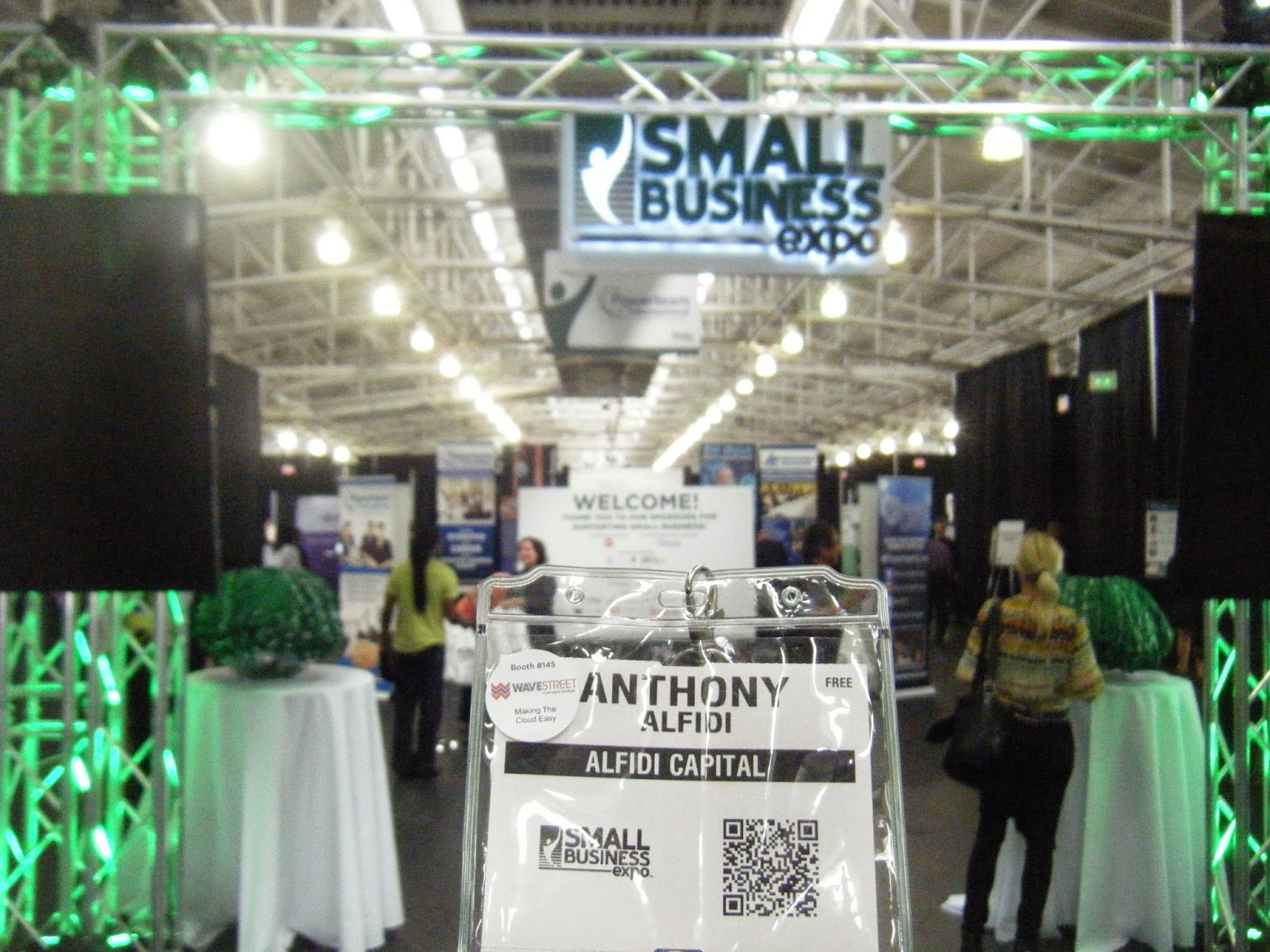 Alfidi Capital Blog: Wasting Time at the Small Business Expo