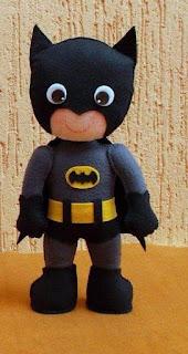 Batman Bebé: Molde Gratis