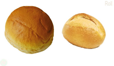 Roll,Roll bread, roll food