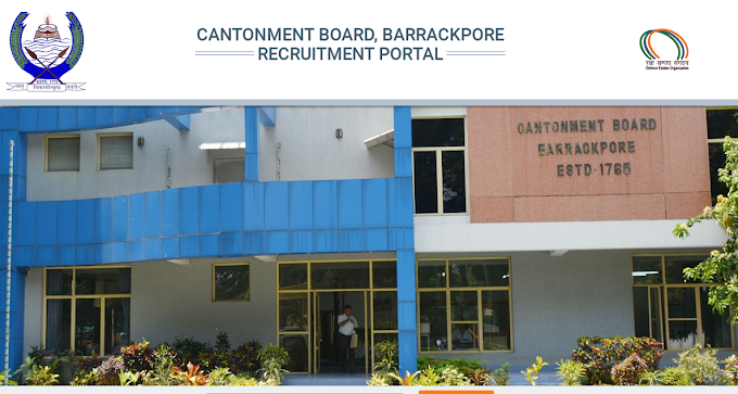 Cantonment Board Of Barrackpore  Assistant Teacher, LDC, Staff Nurse Vacancy