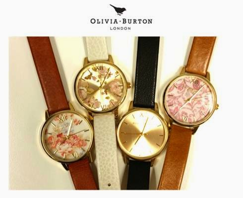 Olivia Burton's vintage inspired watches