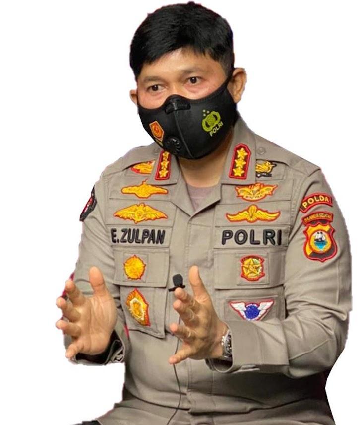 Kombes Pol E.Zulpan, Polda Sulsel dan Jajaran Polres Terus Lakukan Pengamanan Pasien Covid-19