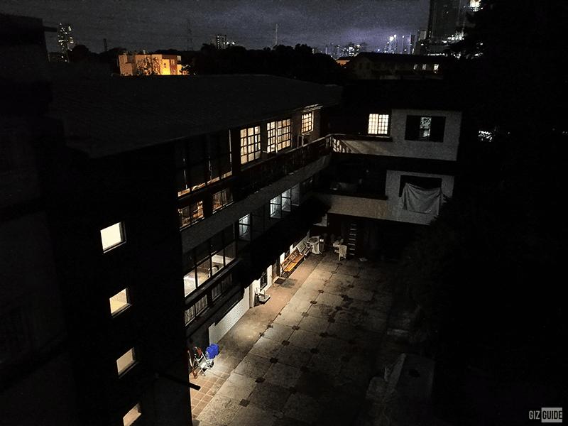 Rear camera low light Night mode 1x