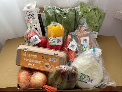 鮮乳坊好農蔬果箱