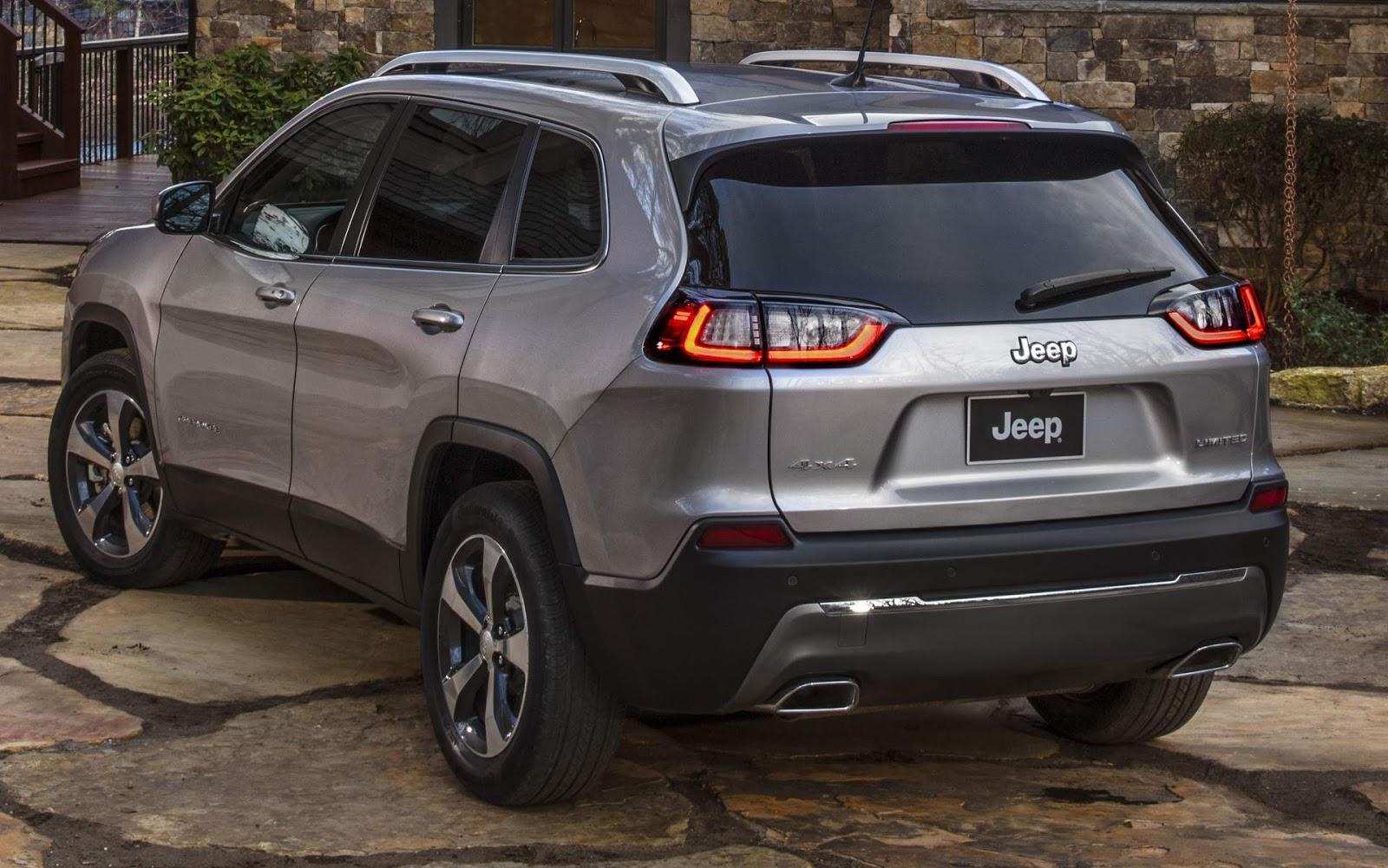 Novo Jeep Cherokee 2019 será lançado em janeiro - fotos ...