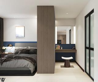Version 1 3d drawing master bedroom