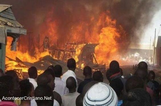 Boko Haram queman iglesias en Nigeria