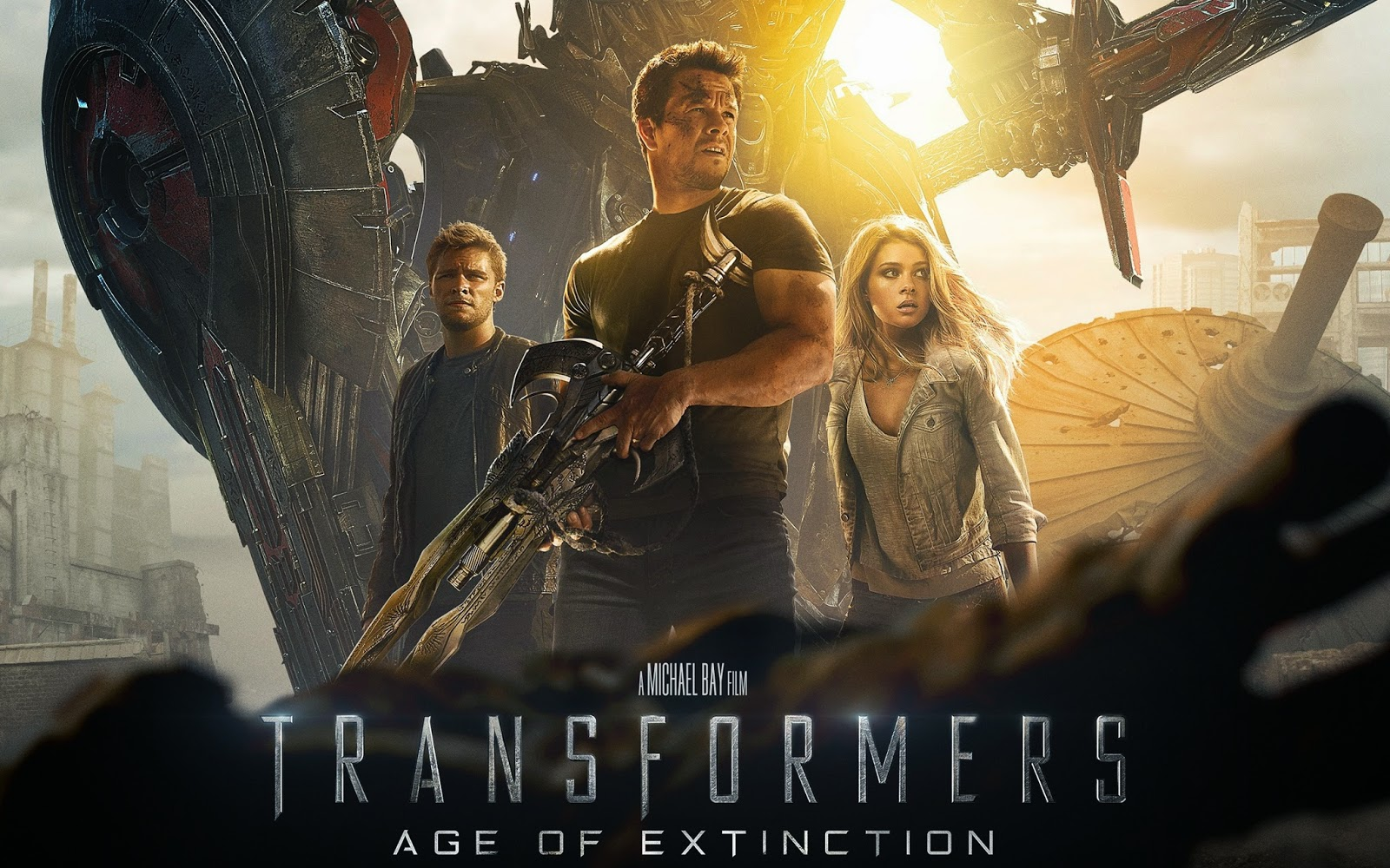 Transformers Age Of Extinction Full Movie In Hindi: Transformers Age Of Extinction (2014) [Dual Audio] 720p