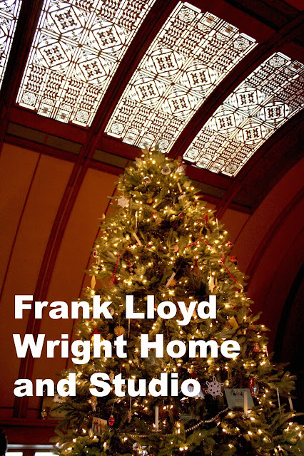 Christmas at the Frank Lloyd Wright Home and Studio