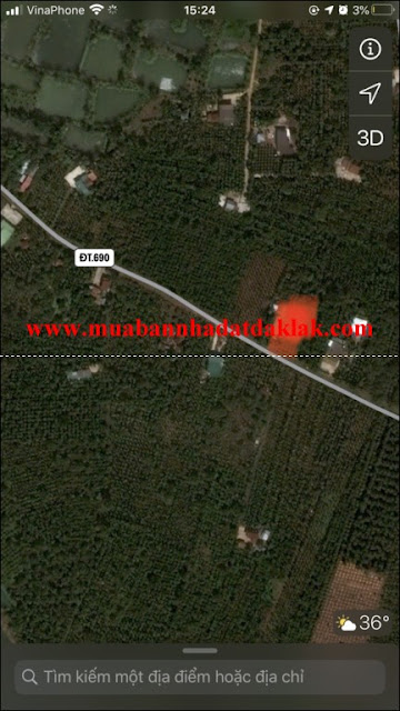Bán đất thôn 2 Xã Ea Kao Buôn Ma Thuột 1 tỷ 590
