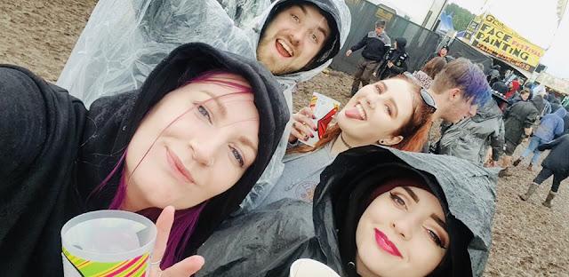 Rachel, Ben, Rosy + Charlotte