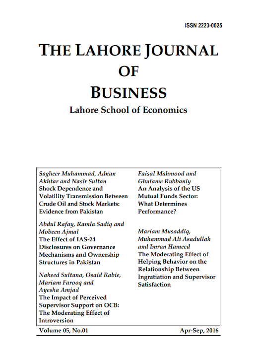 research papers pakistan economy