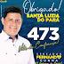 Vereador eleito, Fernando Cunha, agradece a população pelos votos recebidos