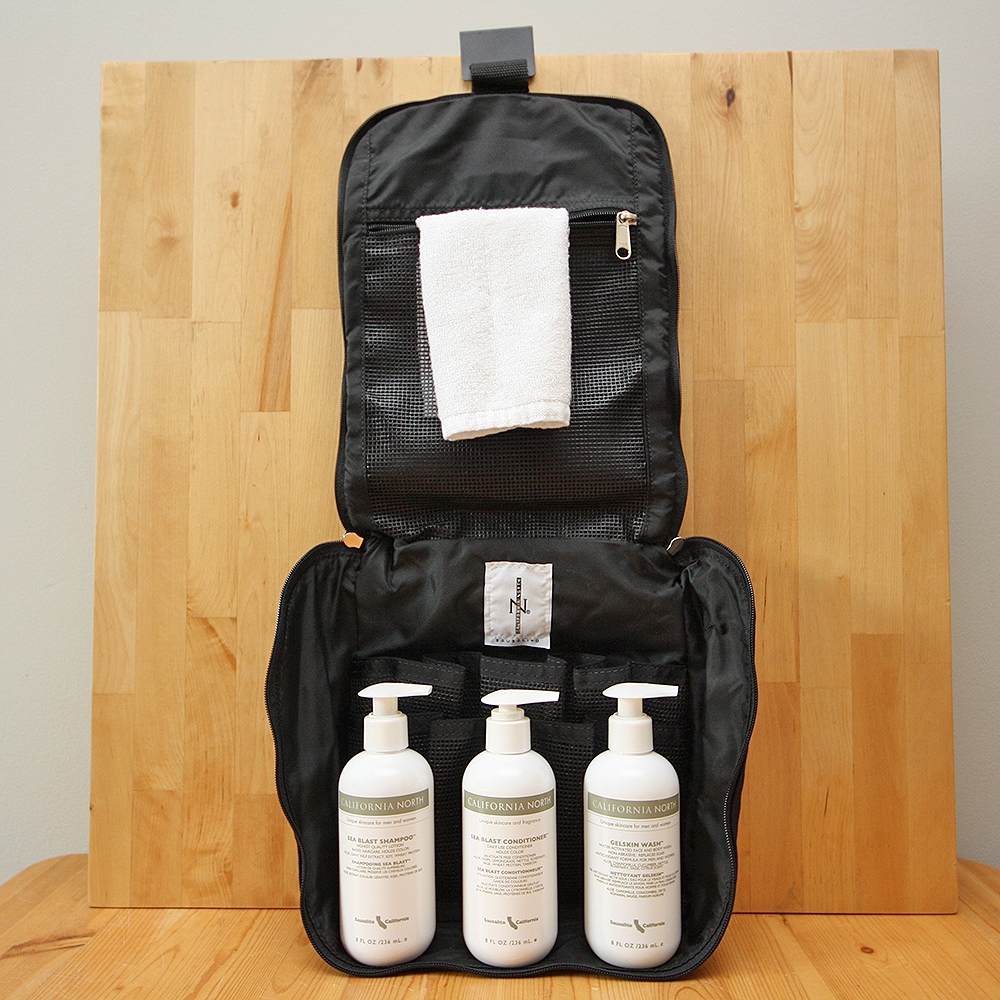 California North Travel Shower Bundle  for Traveling in Style