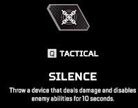 Silence Apex Legends Revenant Tactical Ability
