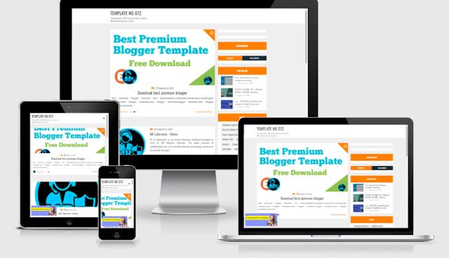 Seo Blog premium template download