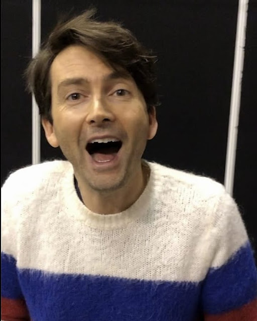 David Tennant at Wales Comic Con fan convention in Telford, Shropshire - Saturday 7th December 2019