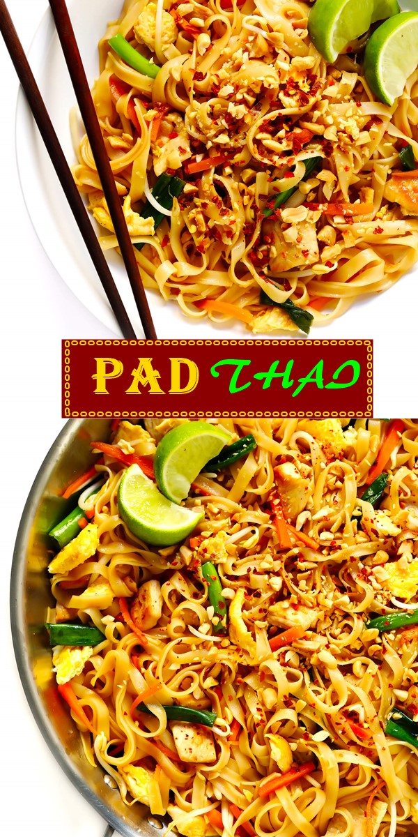 PAD THAI #dinnerrecipes