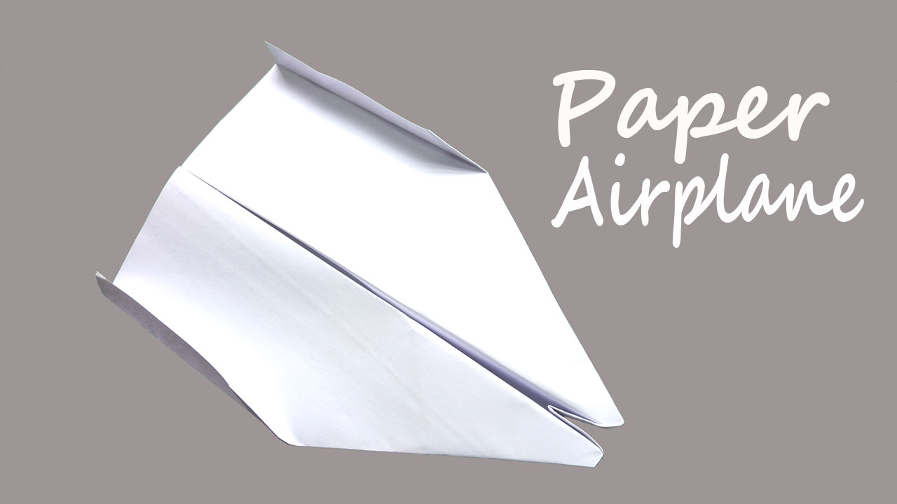 How to make a fast paper airplane that flies far - researchabout ... | 720x1280
