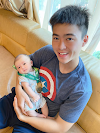 Dù Chỉ Vừa 1 Tháng Tuổi Con Trai Duy Mạnh Đã Có Huy Chương Đeo Giống Bố