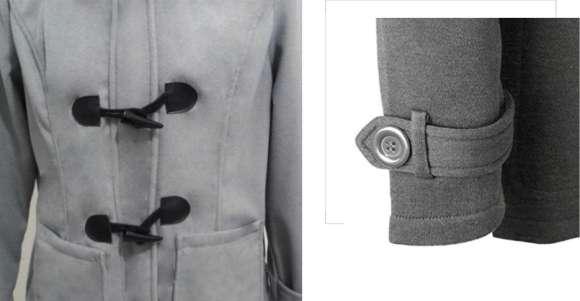 Women Coat Winter Cotton Overcoat Outwear Fashion Pockets Jacket Coat