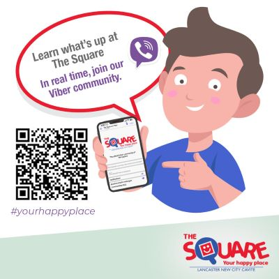 The Square in Lancaster New City is now on viber