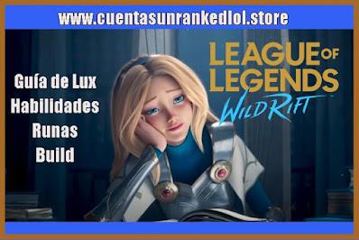 Lux WildRift LOL