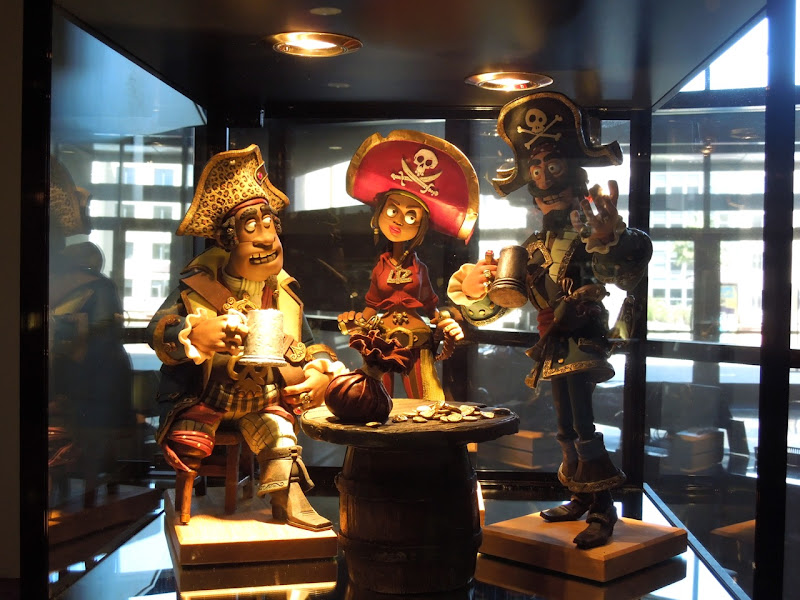 Pirates clay animation models
